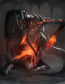 Crown Devil offical art by @JackAKaiser