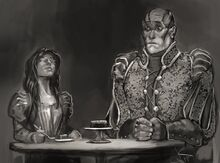 Willow and Doros on a date by Jack Kaiser