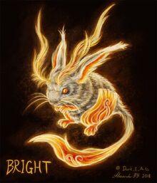 Bright the Barchoba fan art by @Dark E Arts