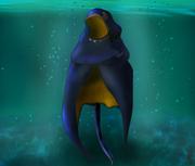 Cloak of the Manta Ray fan art by @TokuNerd83