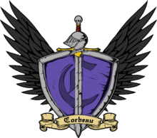 Corbeau Family Crest