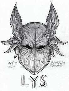Lys fan art by @Dark E Arts