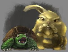 Borky and Balfor fan art by @SirMalervik