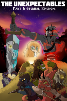 The unexpectables eternal kingdom fan art by leatherpocketwatch