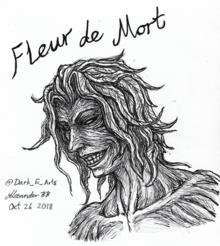 Fleur de Mort fan art by @Dark E Arts