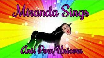 Miranda Sings Anti Porn Unicorn-0