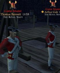 The royal navy red