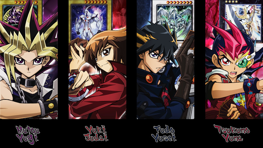 image yu gi oh main protagonists wallpaper by kaitouyahiko d4g900c
