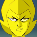 Yellow Diamond Portrait