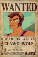 Wanted Clawd Wolf