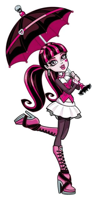 Profile art - Draculaura umbrella
