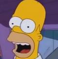 Homer Simpson Portrait