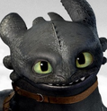 Toothless Portrait