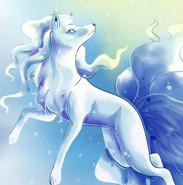 Ninetales (Queen Elsa's)