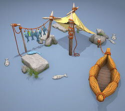 Fishing hut preview