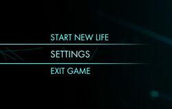 Setting menu preview