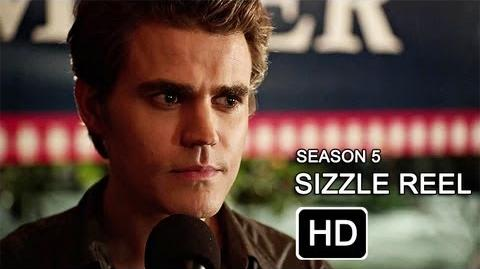 The Vampire Diaries Season 5 - Comic-Con Sizzle Reel HD