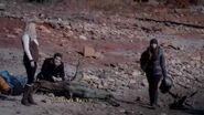 Vampire Diaries 4x13 Into the Wild - Elena tries to stake Rebekah