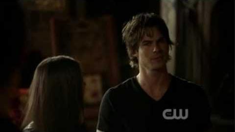 The vampire diaries 1x02 Damon and Elena