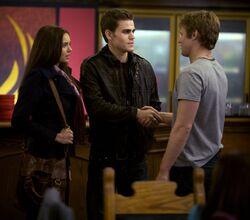 Matt, Stefan ed Elena