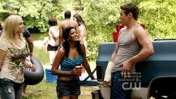 Caroline, Aimee e Matt