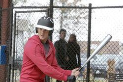Jeremy gioca a baseball