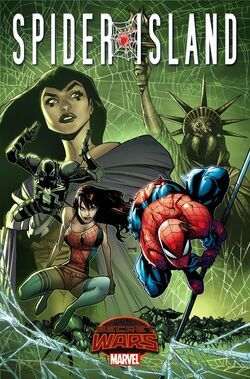 SecretWars SpiderIsland1