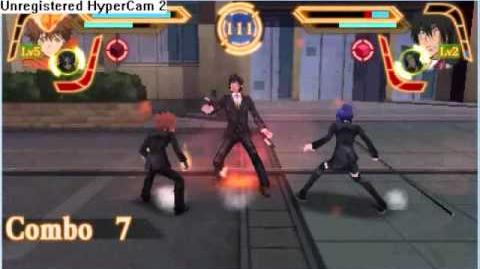 Katekyo Hitman Reborn Kizuna no Tag Battle Tsuna and Chrome vs Mukuro and Xanxus!