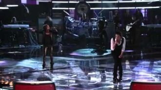 Vicci Martinez and Pat Monahan- Love is a Battlefield
