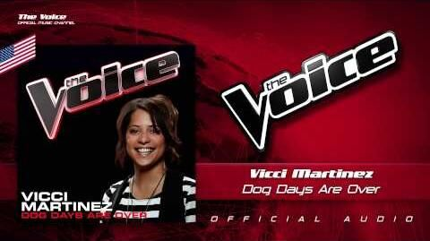 Vicci Martinez- Dog Days Are Over