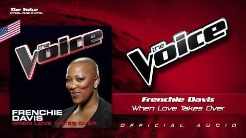 """Frenchie Davis - """"When Love Takes Over"""""""