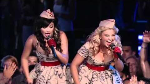 """The Thompson Sisters - """"Boogie Woogie Bugle Boy"""""""