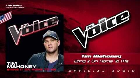 """Tim Mahoney - """"Bring It On Home to Me"""""""