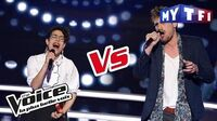 Nathalia VS Valentin Stuff - « Je te pardonne » (Maître Gims ft. Sia) The Voice France 2017..