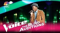 """The Voice 2017 Blind Audition - Chris Blue """"The Tracks of My Tears"""""""