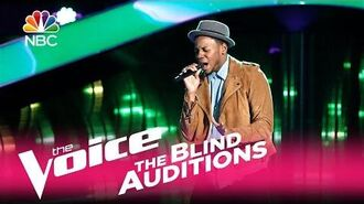 "The Voice 2017 Blind Audition - Chris Blue ""The Tracks of My Tears"""