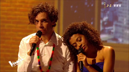 Whitney Marin en duo avec Mika