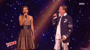 Lucie Vagenheim en duo avec Florent Pagny
