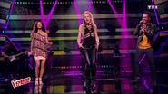 Lucie Vagenheim en trio avec Shakira et Black M