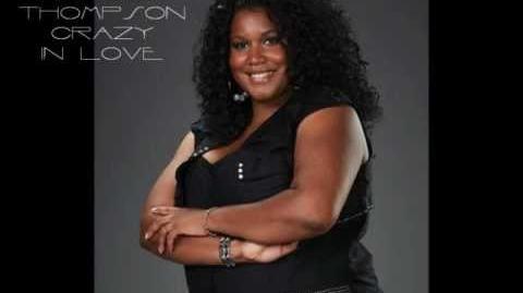 Michelle Brooks-Thompson - Crazy In Love ( The Voice America Season 3) Studio Version