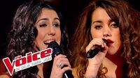 Charles Aznavour – La Mamma Marina d'Amico VS Claudia Costa The Voice France 2014 Battle-0