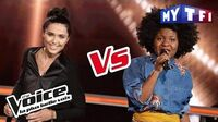 Shaby VS Camille Esteban - « Cheap Thrills » (Sia) The Voice France 2017 Battle