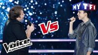 Bulle VS Gianni Bee - « Goodbye My Lover » (James Blunt) The Voice France 2017 Battle