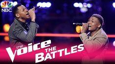 The Voice 2017 Battle - Chris Blue vs
