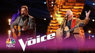 "The Voice 2017 Red Marlow and Vince Gill - Finale ""When I Call Your Name"""