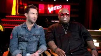 The Voice - ADAM LEVINE & CEE LO GREEN Interview