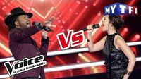 Candice Parise VS R'Nold - « The One's For You » (David Guetta ft. Zara Larsson) The Voice..