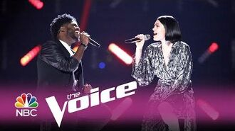 "The Voice 2017 Davon Fleming and Jessie J - Finale ""Not My Ex"""