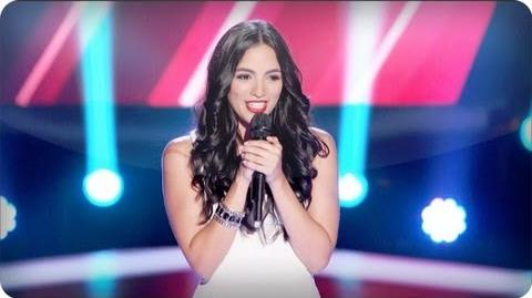 """Adriana Louise's Blind Audition """"Domino"""" - The Voice"""