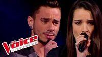 Elton John – Sorry Seems to Be Maximilien Philippe VS Noémie Garcia The Voice 2014 Battle-0